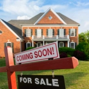 Knoxville Engineered Home Inspections house with a coming soon sign